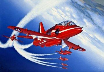 BAe Hawk T.1 Red Arrows · RE 04284 ·  Revell · 1:32