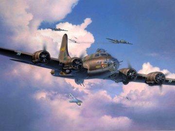 B-17F Memphis Belle · RE 04297 ·  Revell · 1:48