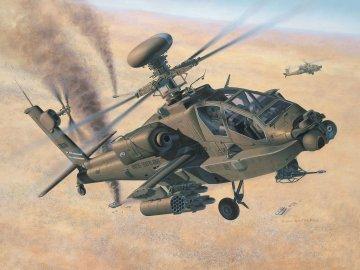 Hughes AH-64D Apache Longbow · RE 04420 ·  Revell · 1:48