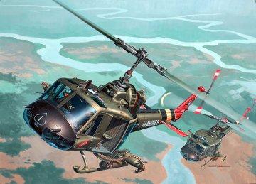 Bell UH-1 Huey Hog · RE 04476 ·  Revell · 1:48