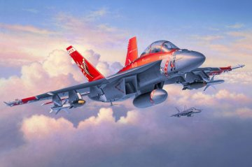 F/A-18F Super Hornet Twin Seater · RE 04509 ·  Revell · 1:48