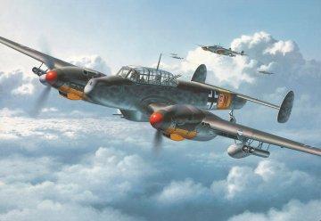 Messerschmitt Bf 110 G-2 /R3 · RE 04530 ·  Revell · 1:48