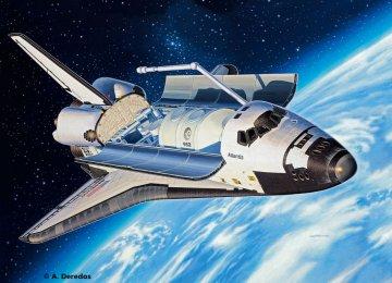 Space Shuttle Atlantis · RE 04544 ·  Revell · 1:144