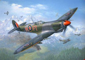 Spitfire Mk. IXC · RE 04554 ·  Revell · 1:48