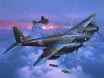 Mosquito Mk.IV Bomber · RE 04555 ·  Revell · 1:48