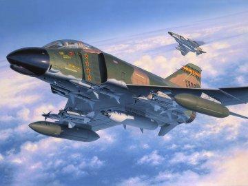 F-4 C/D Phantom II · RE 04583 ·  Revell · 1:48