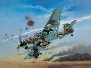Junkers Ju 87 B-2 / R-2 Stuka · RE 04620 ·  Revell · 1:72