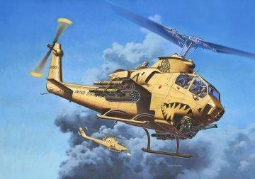 Bell AH-1F Cobra · RE 04646 ·  Revell · 1:48