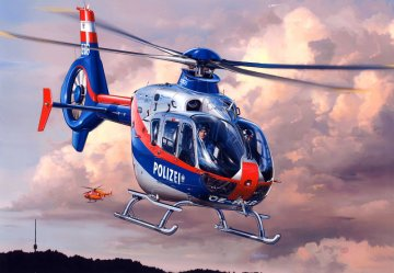 Eurocopter EC135 Österreichische Polizei/Bundespolizei · RE 04649 ·  Revell · 1:72