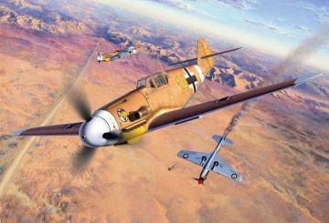 Messerschmitt Bf 109 F-4 · RE 04656 ·  Revell · 1:48