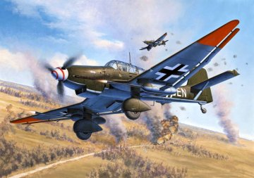 Junkers Ju 87 G/D Tank Buster · RE 04692 ·  Revell · 1:72