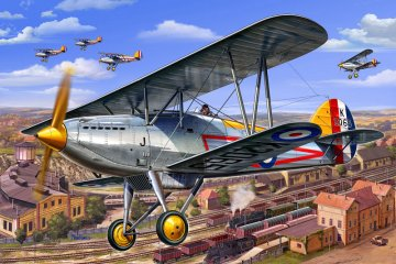 Hawker Fury Mk.1 · RE 04693 ·  Revell · 1:72