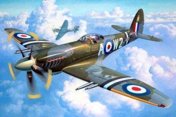 Supermarine Spitfire Mk. 22/24 · RE 04704 ·  Revell · 1:32