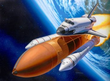 Space Shuttle Discovery & Booster · RE 04736 ·  Revell · 1:144