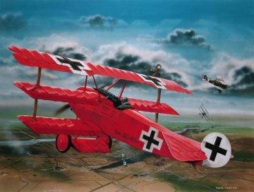 Fokker Dr.I Richthofen · RE 04744 ·  Revell · 1:28