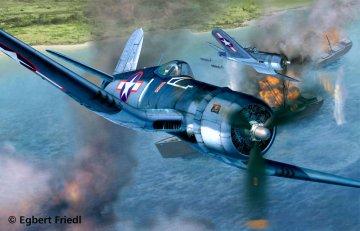Vought F4U-1D Corsair · RE 04781 ·  Revell · 1:32