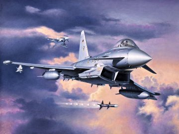 Eurofighter Typhoon & Engine · RE 04783 ·  Revell · 1:32