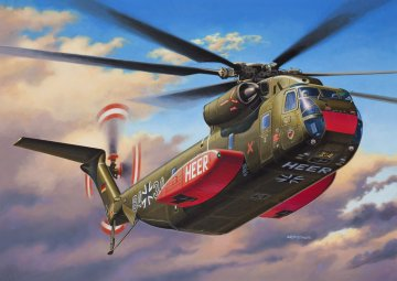 Sikorsky CH-53G · RE 04858 ·  Revell · 1:144