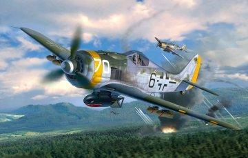 Focke Wulf Fw190 F-8 · RE 04869 ·  Revell · 1:32