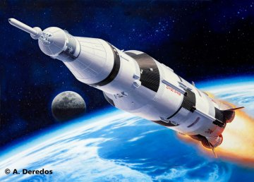 Saturn V · RE 04909 ·  Revell · 1:144