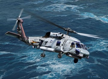 SH-60 Sea Hawk · RE 04955 ·  Revell · 1:100