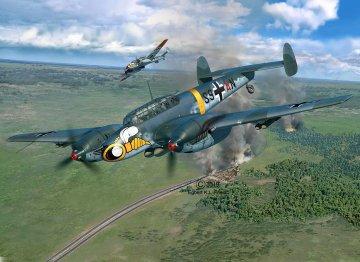 Messerschmitt Bf 110 C-7 · RE 04961 ·  Revell · 1:32