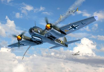 Junkers Ju 88 A-1 - Battle of Britain · RE 04972 ·  Revell · 1:72