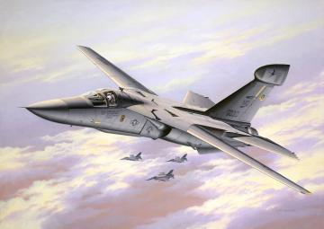 EF-111A Raven · RE 04974 ·  Revell · 1:72