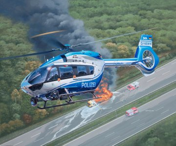 H145 Police · RE 04980 ·  Revell · 1:32