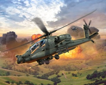 AH-64A Apache · RE 04985 ·  Revell · 1:100