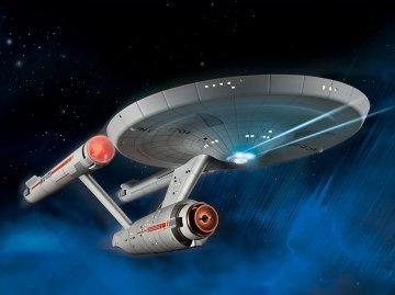 U.S.S. Enterprise NCC-1701 (TOS) · RE 04991 ·  Revell · 1:600