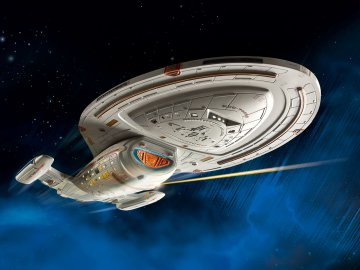 U.S.S. Voyager · RE 04992 ·  Revell · 1:670