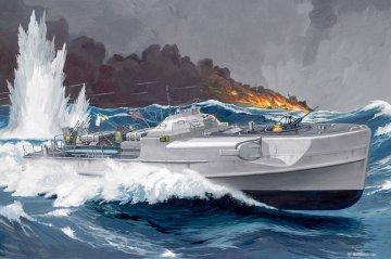 German Fast Attack Craft S-100 & Flak 38 (Deutsches Schnellboot) · RE 05002 ·  Revell · 1:72