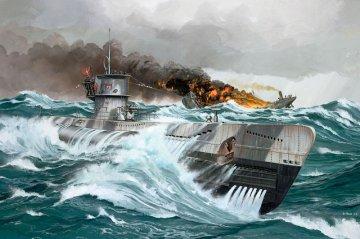 Deutsches U-Boot Type VII C · RE 05038 ·  Revell · 1:144