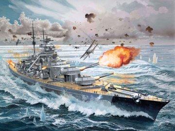 Bismarck · RE 05040 ·  Revell · 1:350