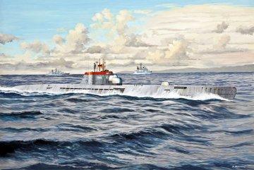 U-Boot Wilhelm Bauer · RE 05072 ·  Revell · 1:144