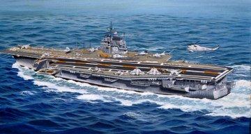 U.S.S. Saratoga CVA-60 · RE 05089 ·  Revell · 1:540