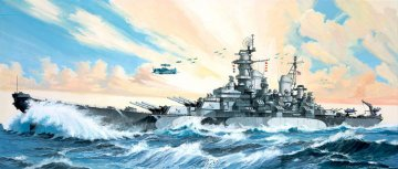 Battleship U.S.S. Missouri · RE 05092 ·  Revell · 1:535