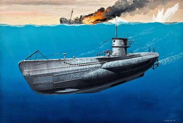 U-Boot Typ VII C · RE 05093 ·  Revell · 1:350