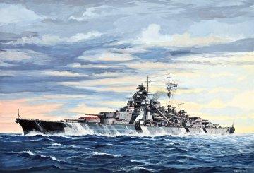 Schlachtschiff Bismarck · RE 05098 ·  Revell · 1:700