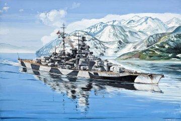 Battleship Tirpitz · RE 05099 ·  Revell · 1:700