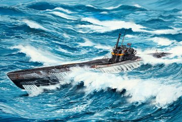 U-Boot Typ VIIC/41 · RE 05100 ·  Revell · 1:144