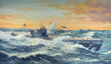 U-Boot Typ IX C · RE 05114 ·  Revell · 1:72