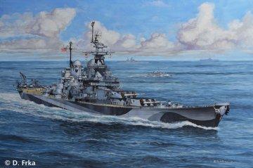 Battleship U.S.S. Missouri (WWII) · RE 05128 ·  Revell · 1:1200