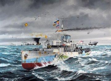 HMCS Snowberry - Flower Class Corvette (early) · RE 05132 ·  Revell · 1:144
