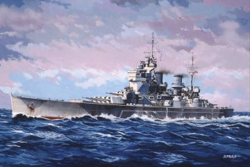 HMS King George V · RE 05161 ·  Revell · 1:1200