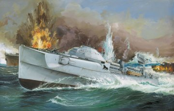 German Fast Attack Craft S-100 · RE 05162 ·  Revell · 1:72