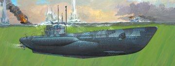 German Submarine Type VII C/41 · RE 05163 ·  Revell · 1:72