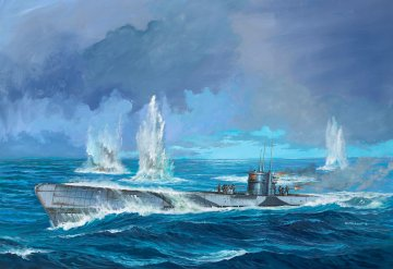 German Submarine Type IX C U67/U · RE 05166 ·  Revell · 1:72