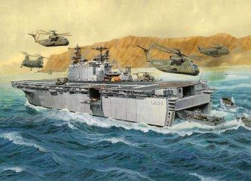 Assault Ship USS Tarawa LHA-1 · RE 05170 ·  Revell · 1:720
